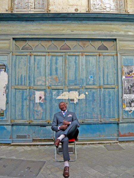 Man and Blue door 3