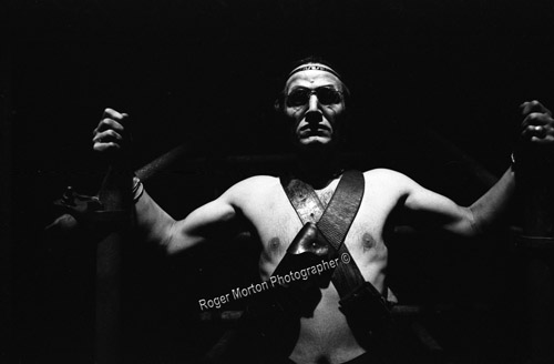 Steven Berkoff's Agamemnon at the Greenwich Theatre 1976